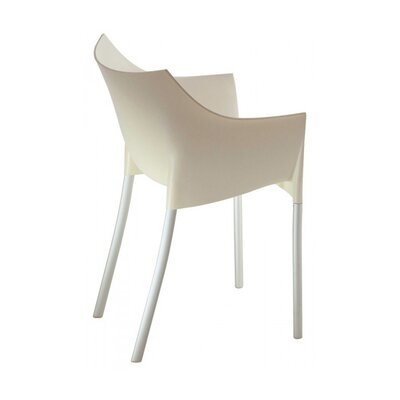 In store financing Dr. No Chair Finish: Wax White...
