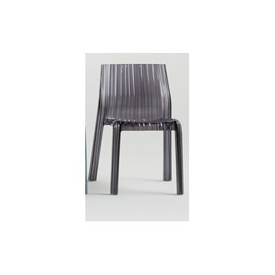 Low Price Kartell Frilly Chair Finish: Transparent Smoke Grey