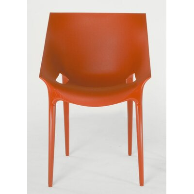 Low Price Kartell Dr. Yes Chair (Set of 2) Finish: Orange-Red