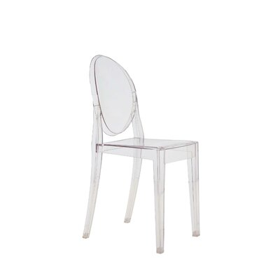 Low Price Kartell Victoria Ghost Chair (Set of 4) (Set of 4) Finish: Transparent Rose
