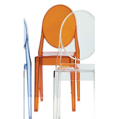Low Price Kartell Victoria Ghost Chair Finish: Transparent Orange