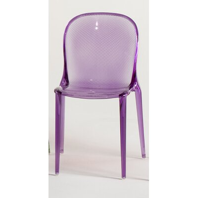 Low Price Kartell Thalya Chair Finish: Purple