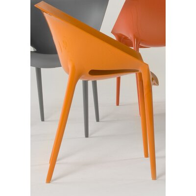 Low Price Kartell Dr. Yes Chair (Set of 2) Finish: Orange
