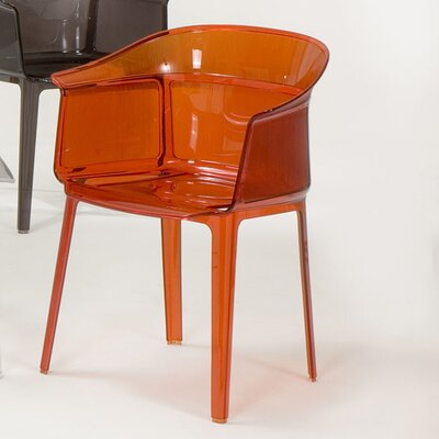 Low Price Kartell Papyrus Chair (Set of 2) Finish: Orange Red