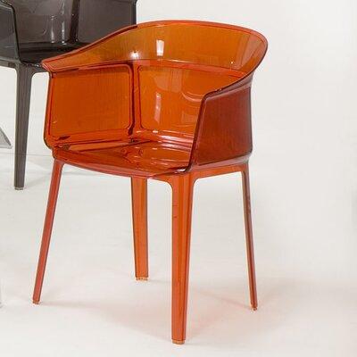 Low Price Kartell Papyrus Chair (Set of 2) Finish: Orange Red