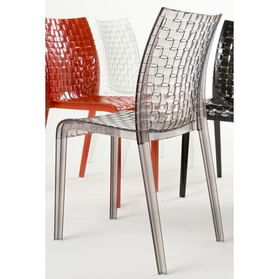 Low Price Kartell Ami Ami Chair (Set of 2) Finish: Smoke Grey