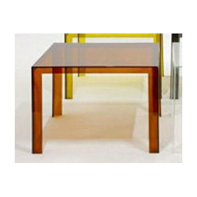 Invisible Coffee Table Finish: Amber, Table Size: 28.3 H