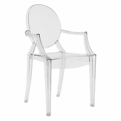 Louis Ghost Armchair (Set of 2) Upholstery: Transparent Crystal Clear