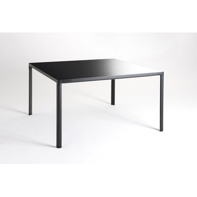 Zooom Extension Table Color: Black, Size: 28.35 H x 33.46 W x 62.99 - 110.2 D
