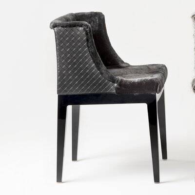 Mademoiselle Kravitz Armchair Finish: Black, Upholstery: Black