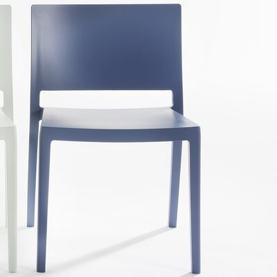 Lizz Mat Chair (Set of 2) Finish: Blue