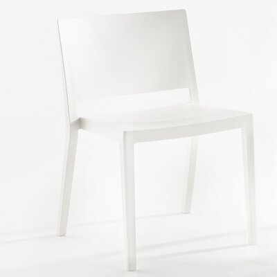 Lizz Mat Chair (Set of 2) Finish: White