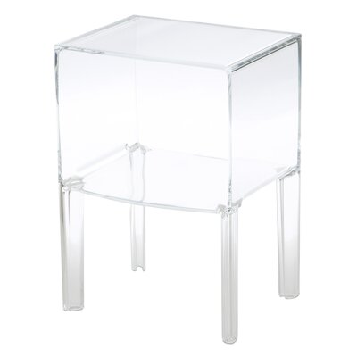 Ghost Nightstand Color: Transparent Crystal