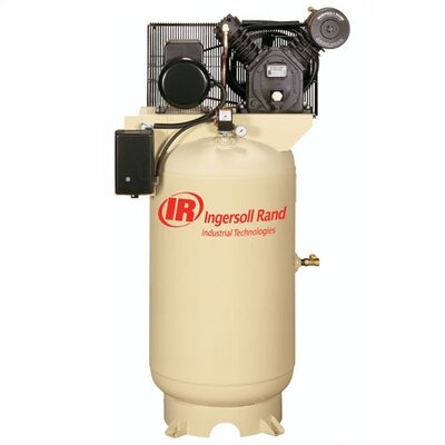 Ingersoll Rand 80 Gallon 175 PSI, 16.8 CFM, 5.0 HP Fully Packaged Electric Driven 2 Stage Air Compressor -Input Voltage:230/460 Volt, 3 phase at Sears.com