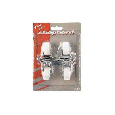 Light Duty Swivel Plate Caster Size: 1-1/4