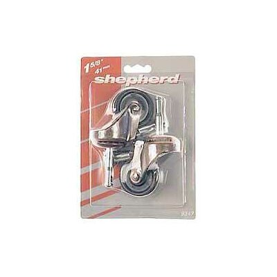 Medium Duty Swivel Stem Caster Size: 1-5/8