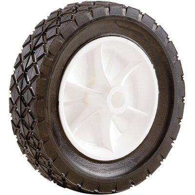 Plastic Hub Semi Pneumatic Rubber Tire Size: 7 x 1-1/2