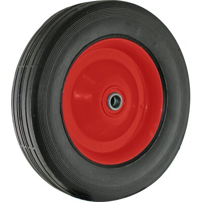 Metal Hub Semi Pneumatic Rubber Tire 9636