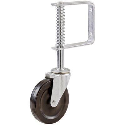 Spring Loaded 4 Hard Rubber Wheel
