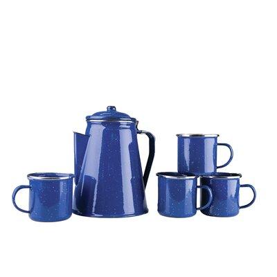 5 Piece Coffee Pot and Mug Set 11230