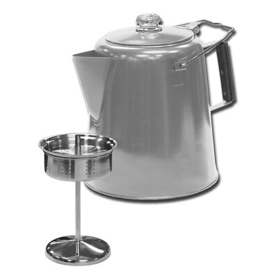 Stainless Steel Percolator Coffee Pot Size: 114 oz. 276-14