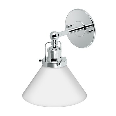 Cafe 1-Light Bath Sconce Finish: Chrome