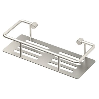 Elevate Shower Caddy Finish: Satin Nickel