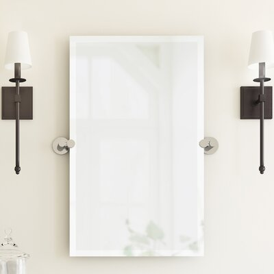 Channel Bathroom/Vanity Mirror Color: Chrome
