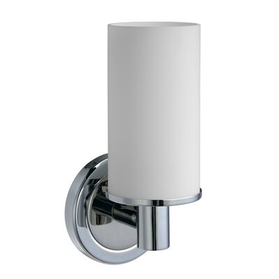 Latitude II Single 1-Light Armed Sconce Finish: Chrome