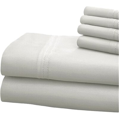 Sheet Set Size: King, Color: White