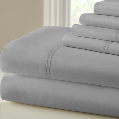 1000 Thread Count Sheet Set Size: Queen, Color: Platinum