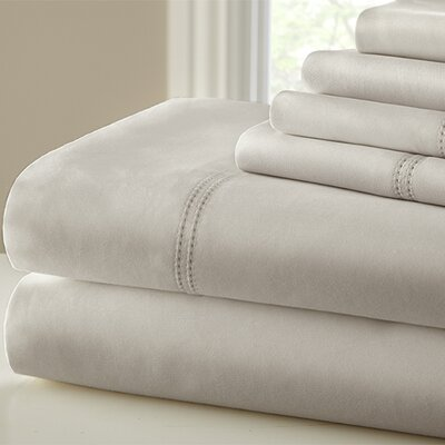 1000 Thread Count Sheet Set Size: King, Color: Beige