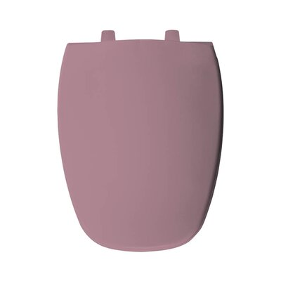 Plastic Elongated Toilet Seat Finish: Dusty Rose