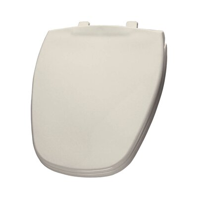 Plastic Round Toilet Seat Finish: Biscuit/Linen