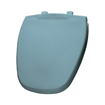 Plastic Round Toilet Seat Finish: Twilight Blue