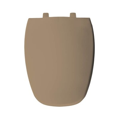 Plastic Elongated Toilet Seat Finish: Sand