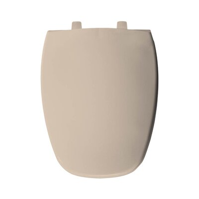 Plastic Elongated Toilet Seat Finish: Natural