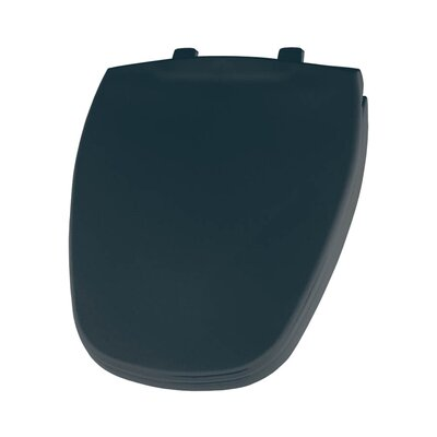 Plastic Round Toilet Seat Finish: Verde Green