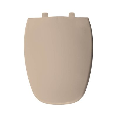 Plastic Elongated Toilet Seat Finish: Peach Bisque