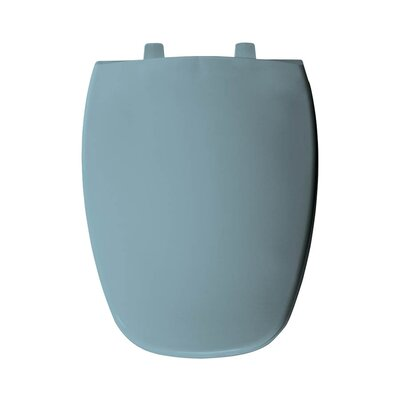 Plastic Elongated Toilet Seat Finish: Twilight Blue