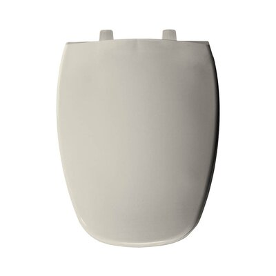 Plastic Elongated Toilet Seat Finish: Biscuit/Linen
