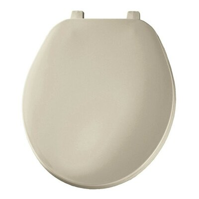 Plastic Round Toilet Seat Finish: Bone