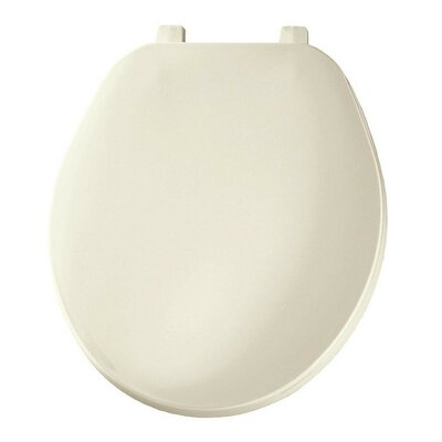 Plastic Round Toilet Seat Finish: Biscuit