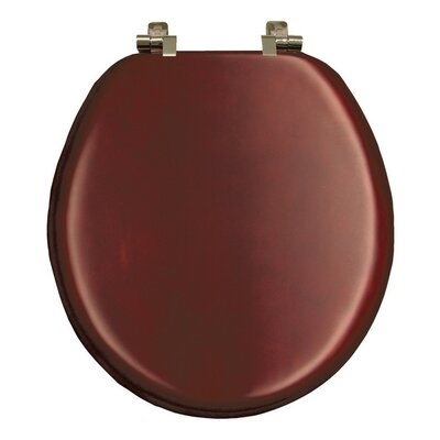 Natural Reflections Wood Round Toilet Seat Finish: Cherry