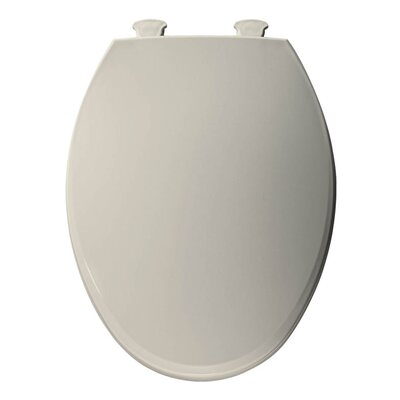 Lift-Off Plastic Elongated Toilet Seat Finish: Biscuit