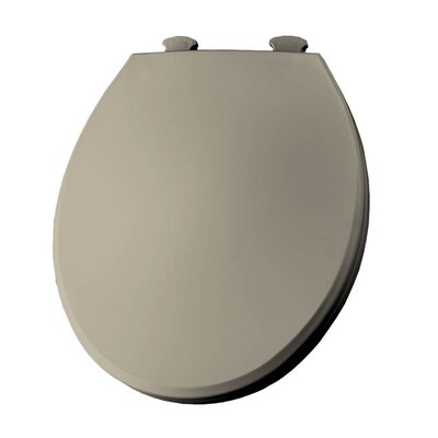 Lift-Off Plastic Round Toilet Seat Finish: Bone