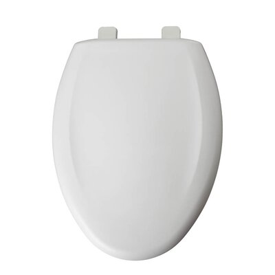 Plastic Elongated Toilet Seat Finish: White