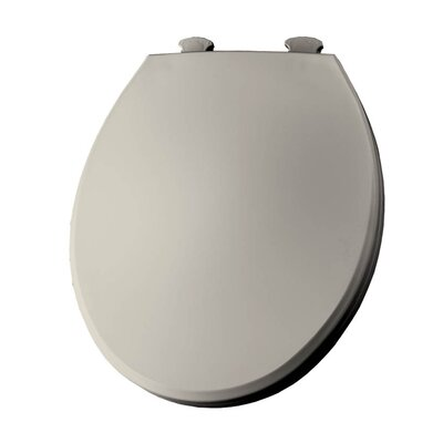 Lift-Off Plastic Round Toilet Seat Finish: Biscuit