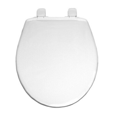 Plastic Round Slow-Close Toilet Seat