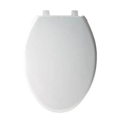 Just Lift Plastic Elongated Toilet Seat